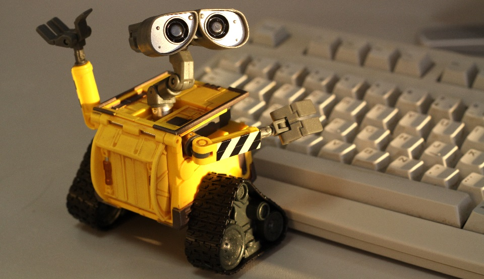 Wall-E writing