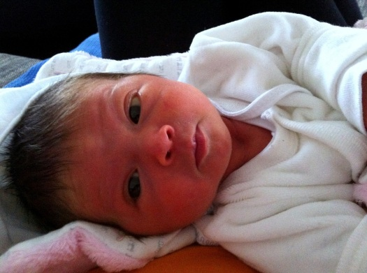 Sunny girl 5 days old