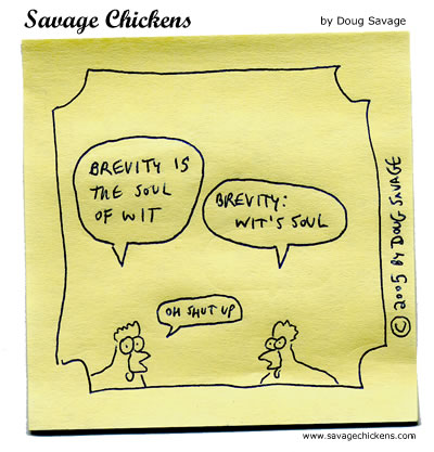 chickenbrevity