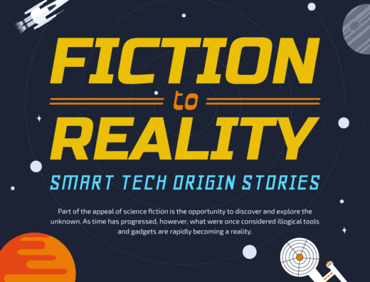 Fiction to Reality - Smart Tech Origin Stories