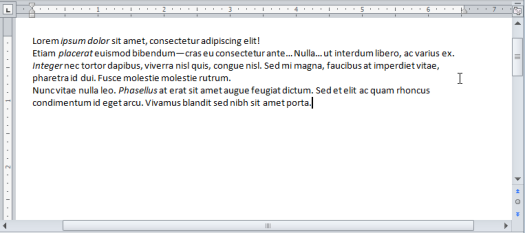 Vero Formatting - 3