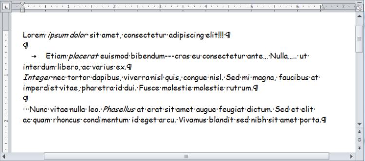 Vero Formatting - 1