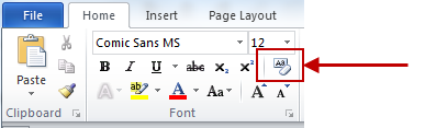 Vero Formatting - Clear Formatting