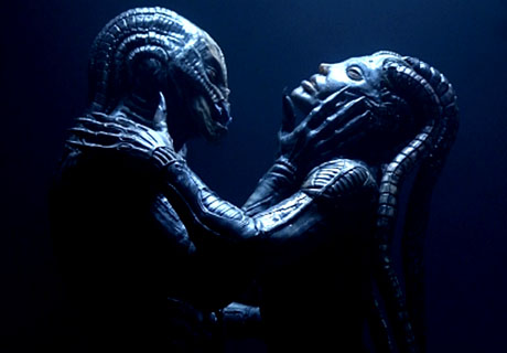 Alien coutring (courtesy of Species 3, or rather H.R.Giger)