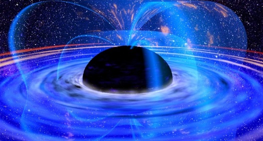 blue black hole